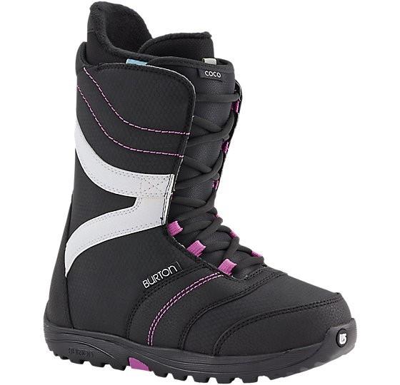 COCO - Boot - Burton - Black-Purple