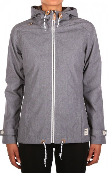 Iriedaily - Kishory 5.0 Jacket - Übergangsjacke - Grey Melange